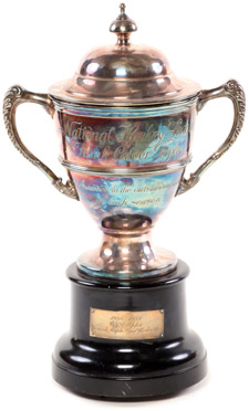 1936-1937 Calder Trophy awarded to Sly Apps of the Toronto Maple Leafs